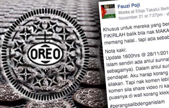 Benarkah Orang Islam Tak Boleh Makan Oreo?