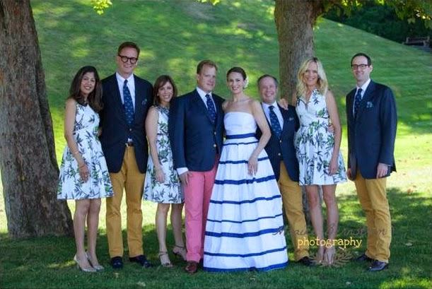 ck bradley wedding dress and bridesmaids dresses