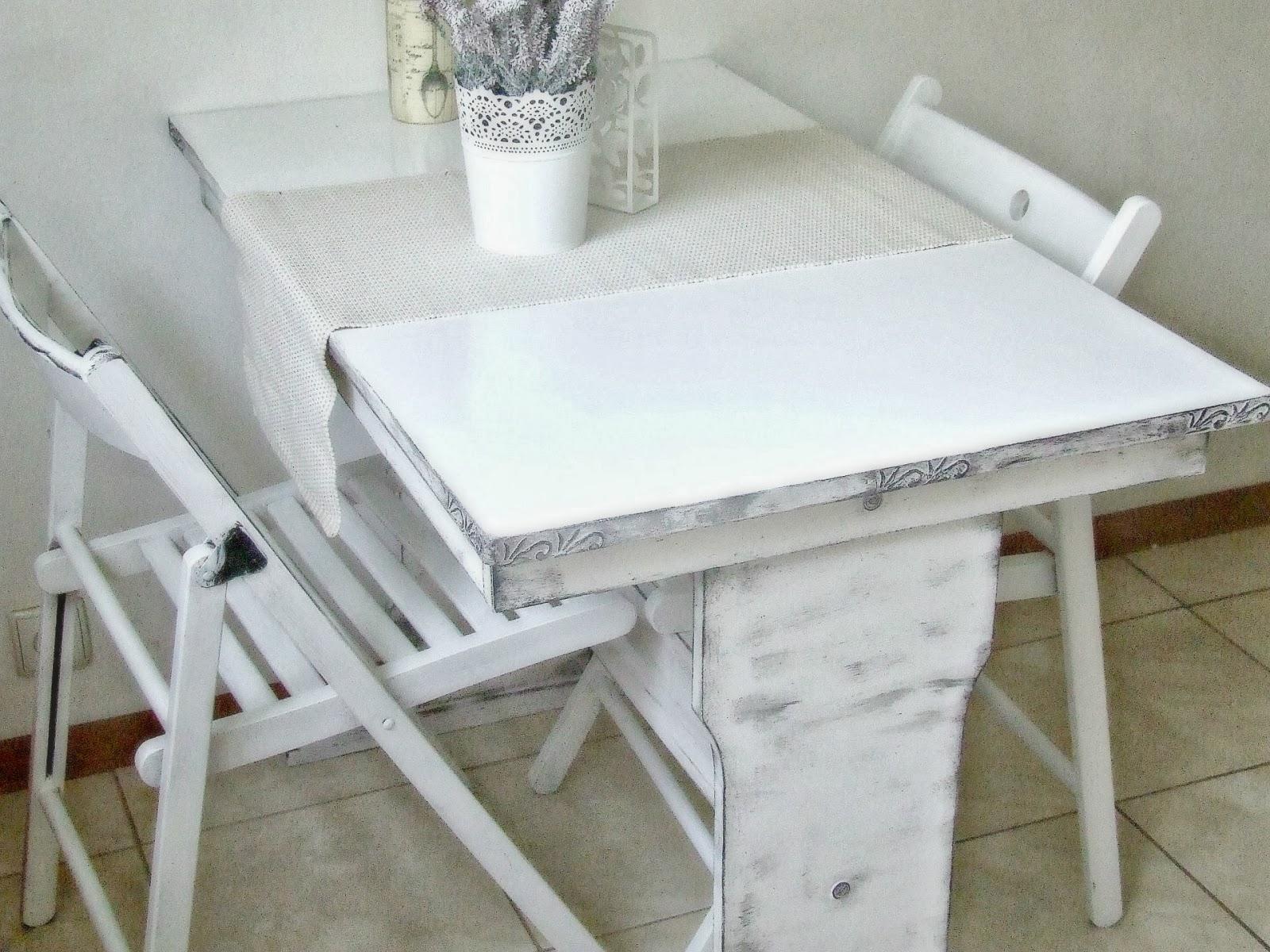 jak odnowić stary stolik  by Eco Manufaktura