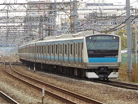 京浜東北線 各駅停車 品川行き E233系(2015.4.12運行)