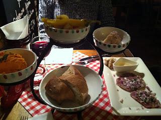 Slovakian sharing platter