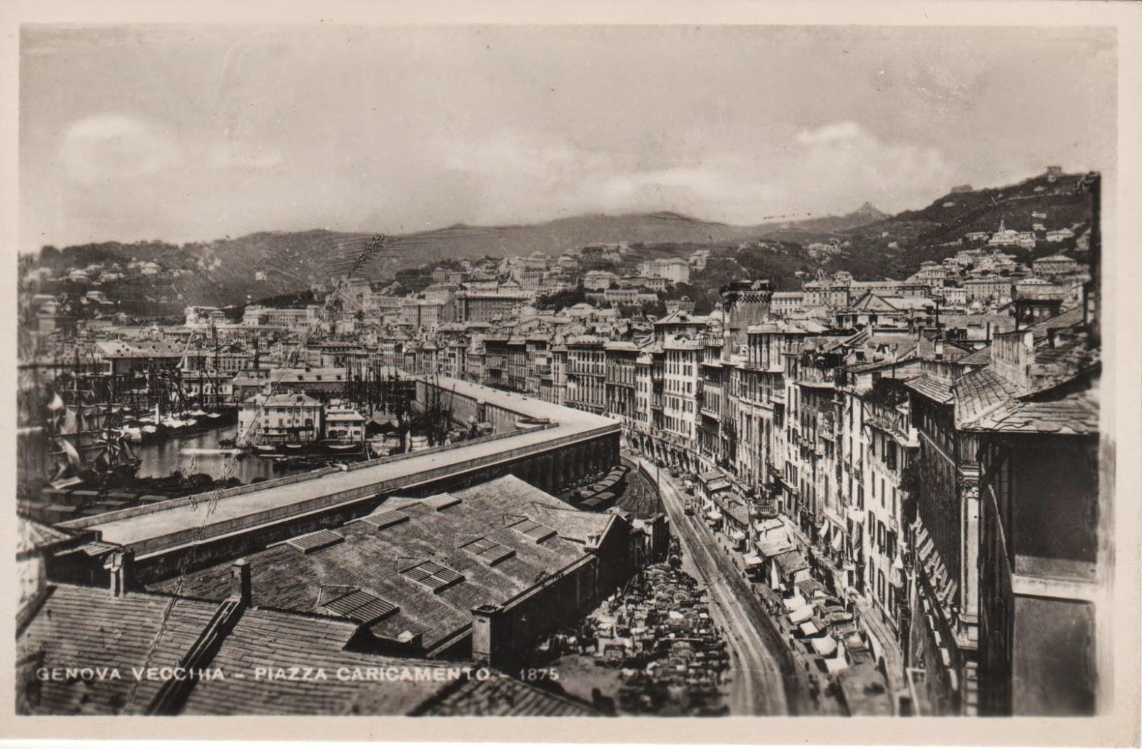 C\'ERA UNA VOLTA GENOVA : Genova - Via Gramsci
