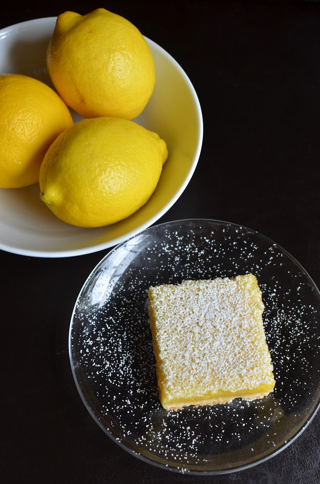 Playing with flour my first lemon bars make lemon bars for a while since i love lemon but i was really motivated to bake a batch after seeing a recipe for a lighter version in cooking light audiocablefo