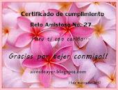 RETO AMISTOSO No.27 CON CHELA CUMPLIDO
