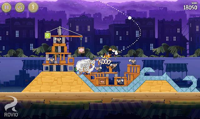 Angry Bird Rio Screenshots 1
