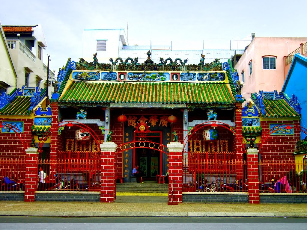 Templo Ong en Can Tho