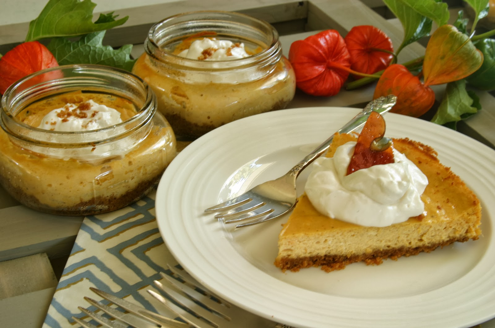 ... Pie: Pumpkin Cheesecake with Triple Ginger Crust and Cookbook Review