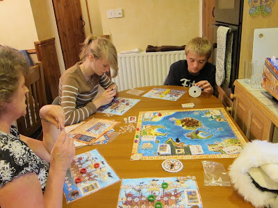 Pirate Cove - An exhaused Tom still managed to defeat the scarry lady pirates