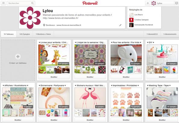 Tableaux de Lylou sur Pinterest