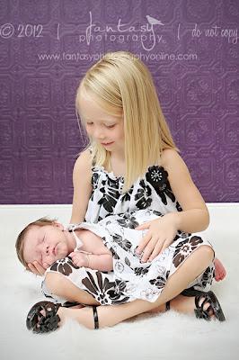 Triad Newborn Photographer | Newborn Photography in Winston Salem | Fantasy Photography, LLC