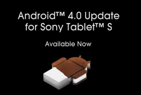 Le novità sui tablet sony con l'arrivo di ICS