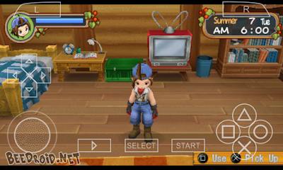 Harvest Moon: Hero of Leaf Valley ISO PSP