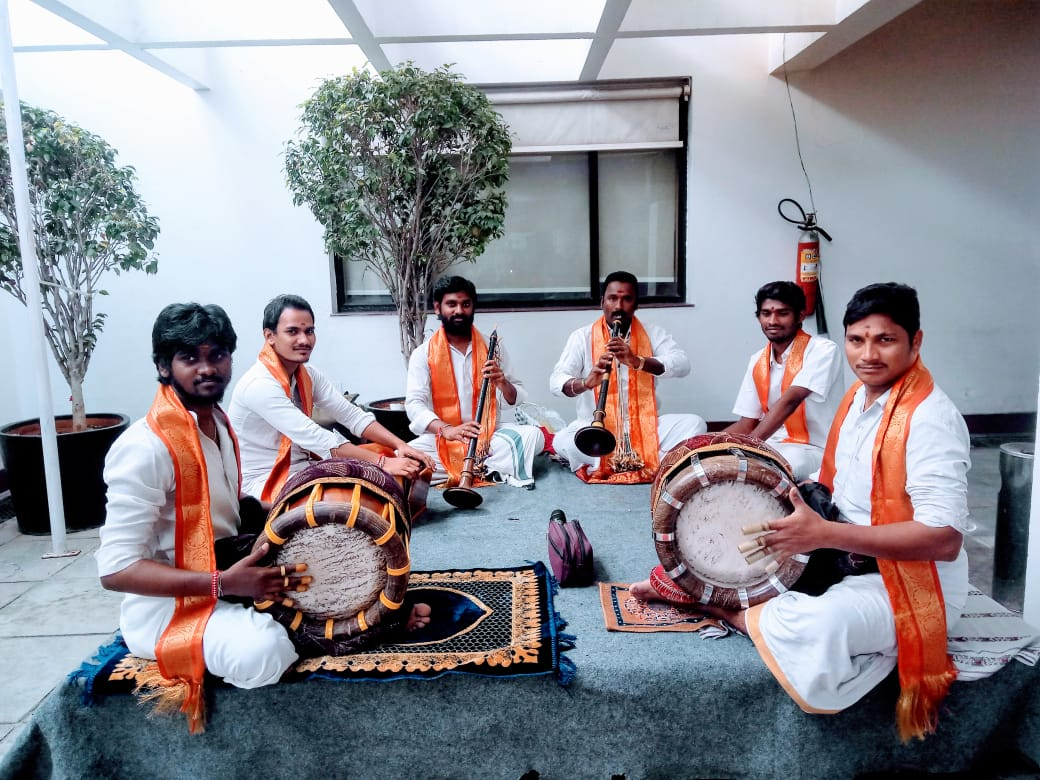 Sannai melam in Hyderabad
