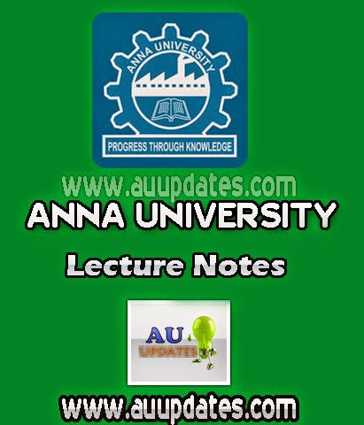 EC6303 Signals and Systems Lecture Notes Regulation 2013