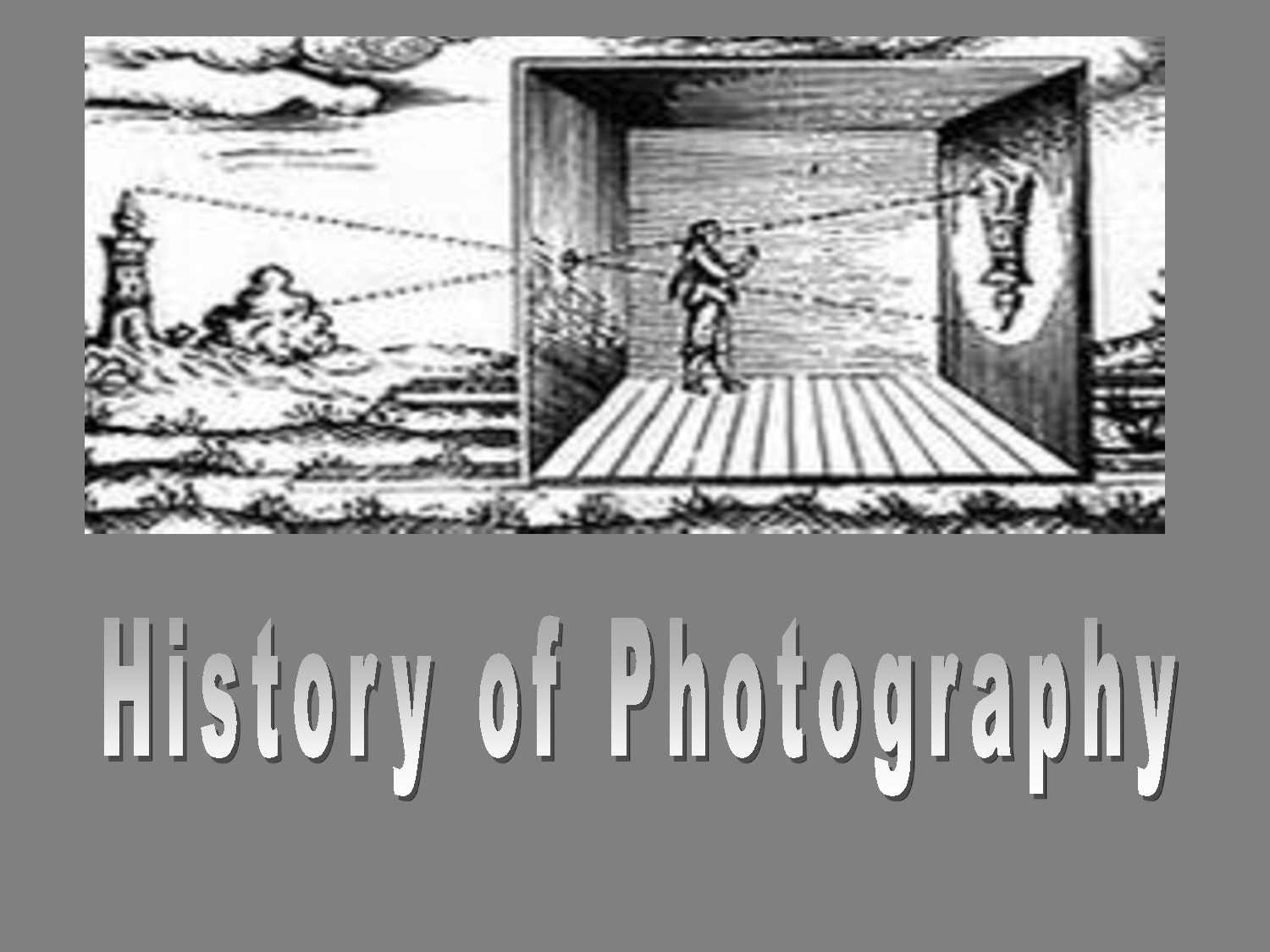 the history of photography essay History of photography essayconviction as a nonverbal means of communication, photography can surmount the barriers of language.