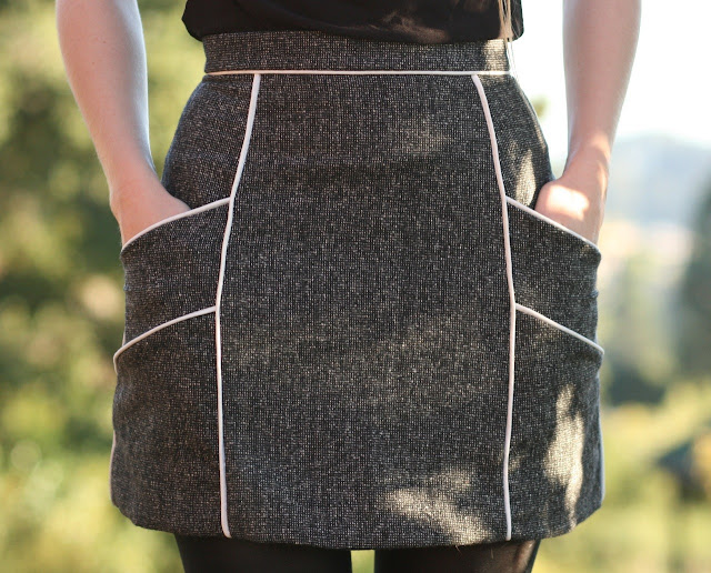 fitted skirt pattern