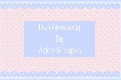http://simplesyara.blogspot.com/2013/12/duo-giveaway-by-azlan-syara.html?utm_source=feedburner&utm_medium=feed&utm_campaign=Feed%3A+simpleSyara+%28%E2%9D%A4SIMPLE+SYARA%E2%9D%A4%29