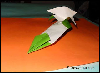 origami high performance paper airplane