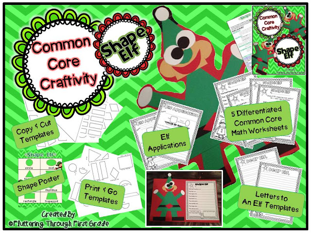 http://www.teacherspayteachers.com/Product/Common-Core-Craftivity-Shape-Elf-1001455