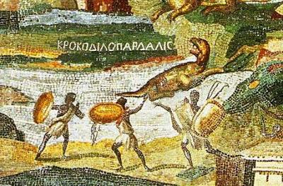Mosaic Sungai Nil dari Palestrina