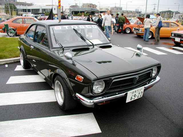 Toyota Sprinter Trueno E20 stary japoński samochód oldschool klasyk sportowy coupe