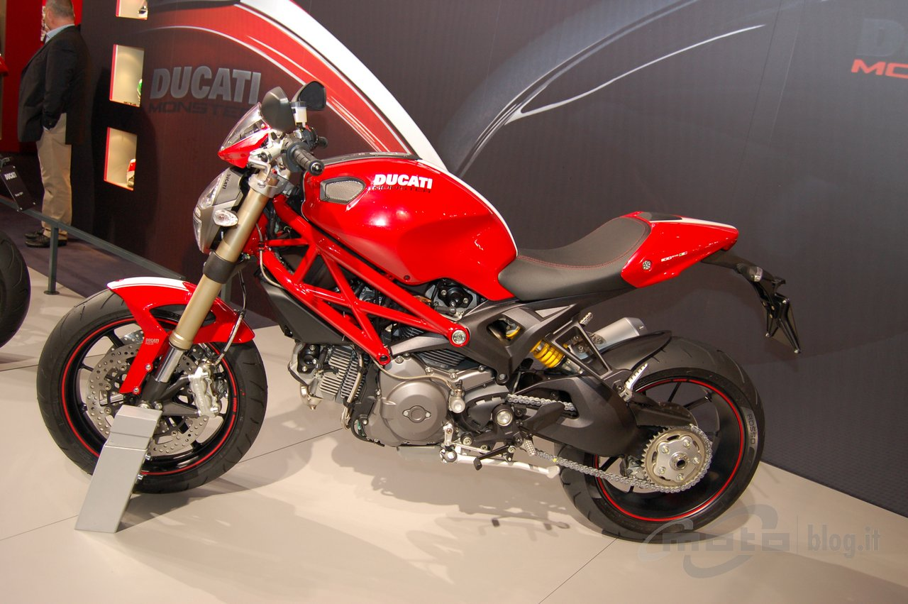 Sandeep Rana Ducati Monster 1100 Evo