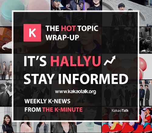 Noticias sobre k-Pop cada semana en KakaoTalk