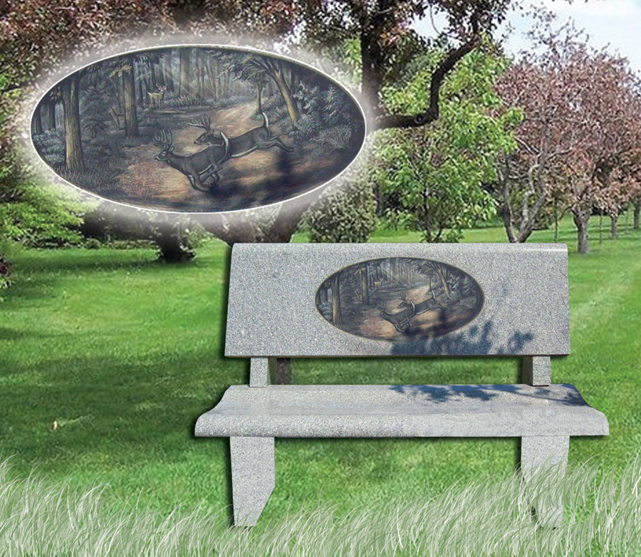 Monuments And Memorials Garden Benches And Green Spaces