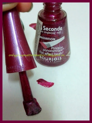 Bourjois 1 Seconde Nail Enamel 13 Bikini Paillete Review