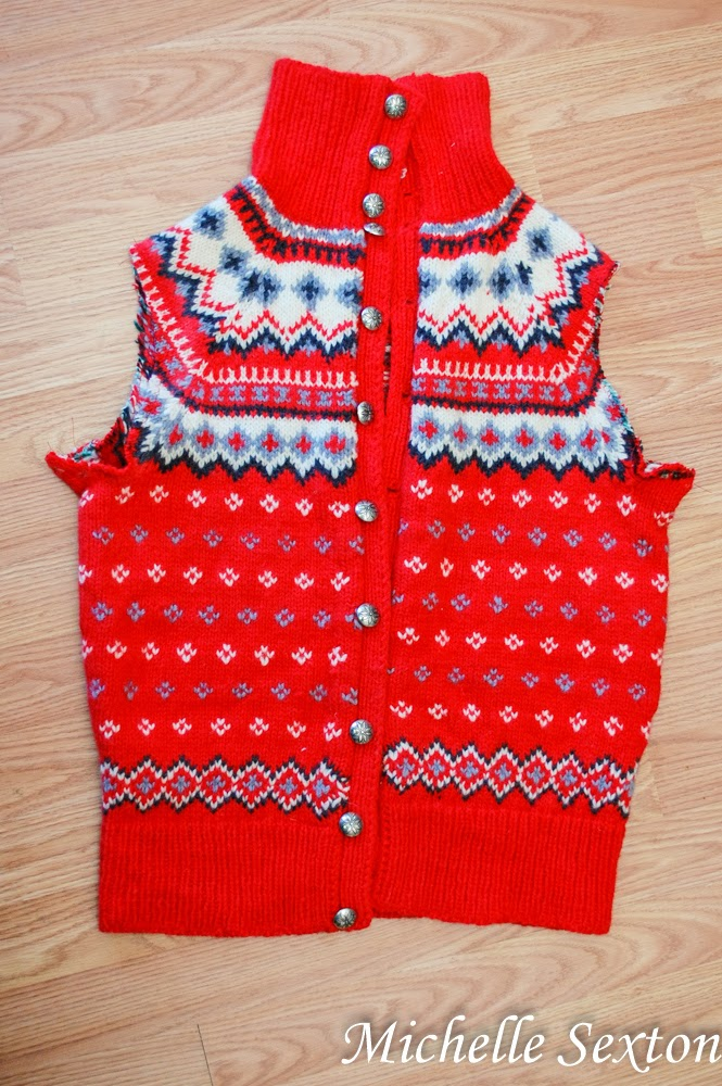 how to upcycle a sweater!
