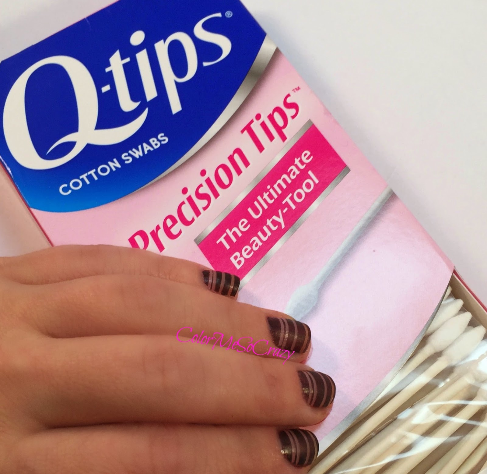Holiday Nail Art With Precision Q Tips