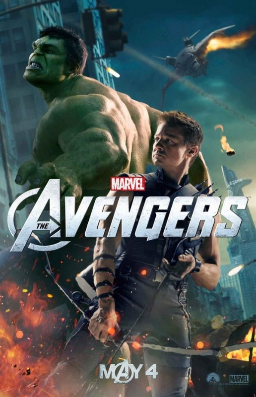 The avengers poster 7 hawkeye 26 hulk