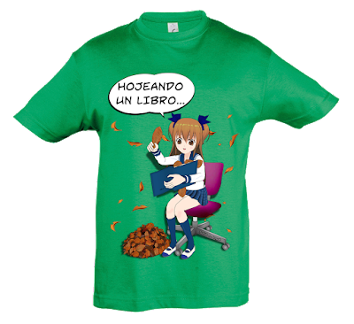 "Camiseta manga corta para niñas ""Forma incorrecta"" color verde"