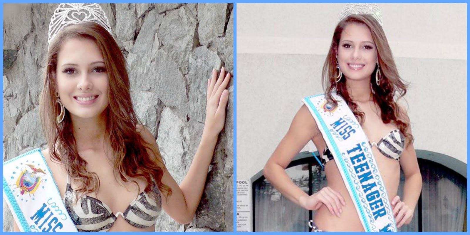 brasil top 10 de miss internacional 2015. Isis+Miss+Teenager+09