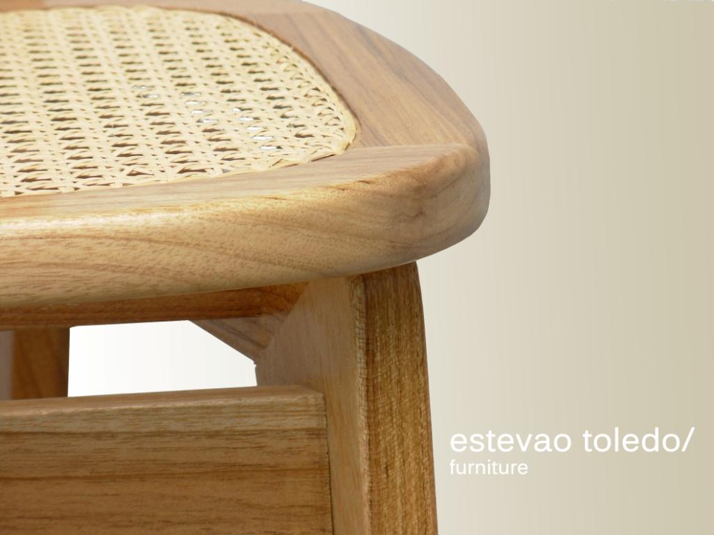 Cadeira FLORIDA palhinha/ Estevão Toledo/ Foto: Pamela Caszely. #4F290B 1024x768