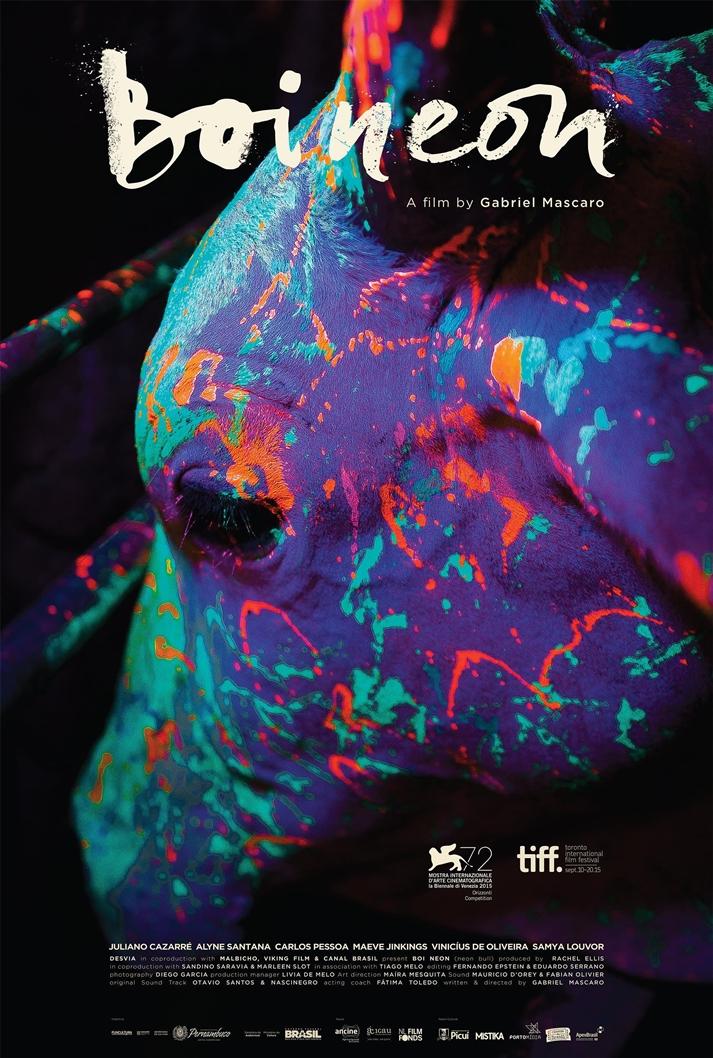 Póster: Boi neon (Neon bull)