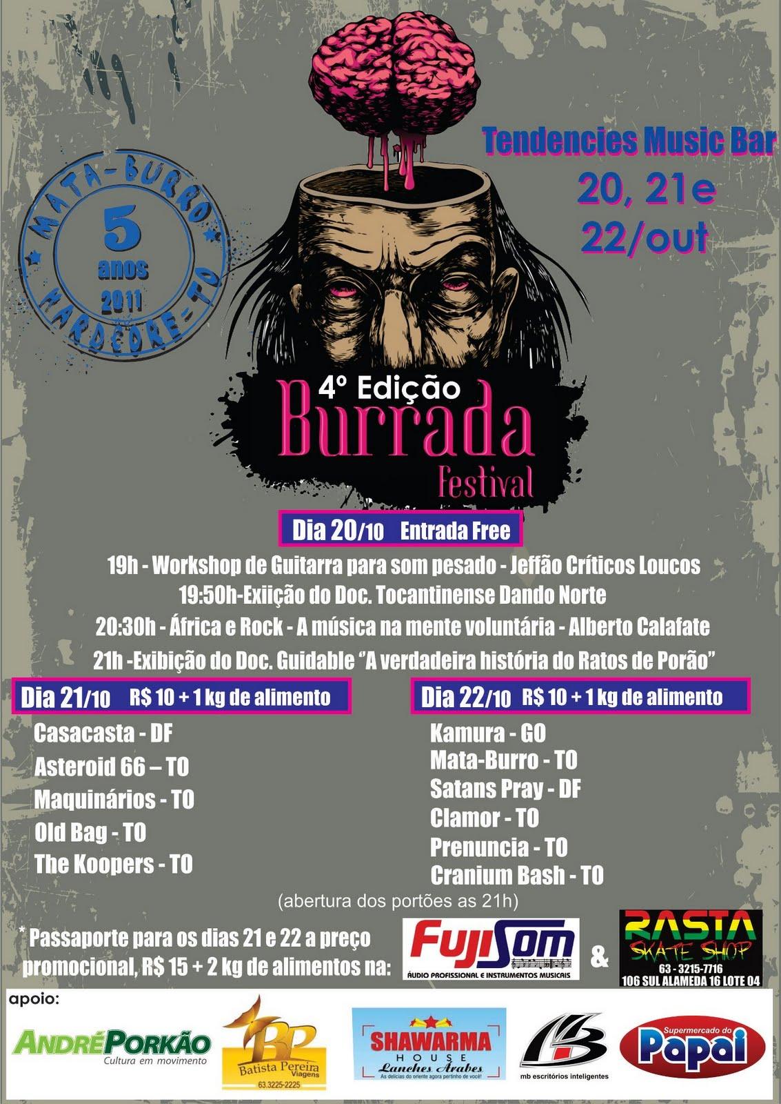 4º Edição do Burrada Festival