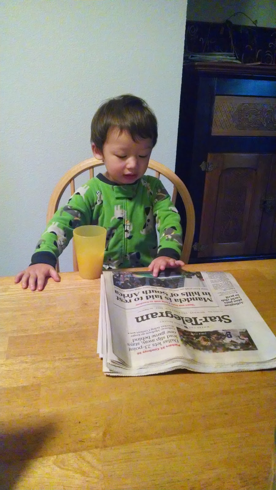 child, boy, newspaper, literacy