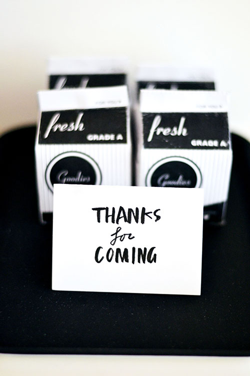 cookie favors in mini milk cartons