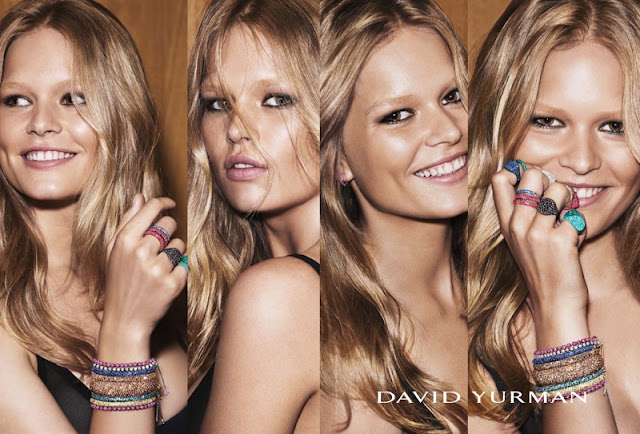 David Yurman Holiday 2015 Campaign featuring Anna Ewers