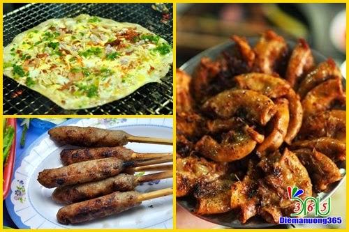 Những món nướng ngon cho ngày mát cuối tuần ở Hà Nội