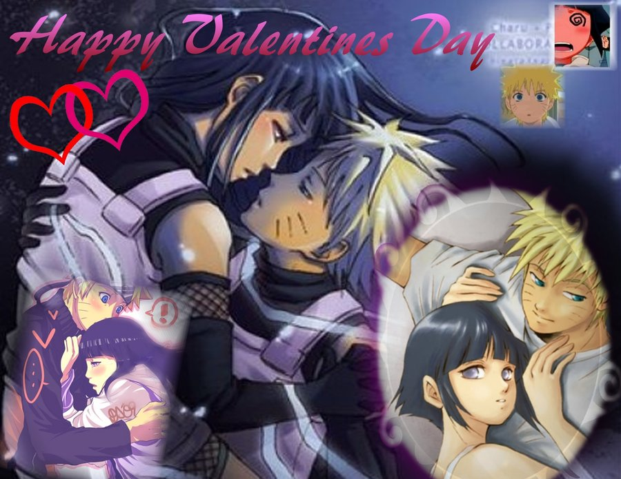 Naruto and Hinata on Valentine