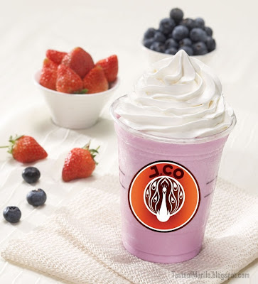 Mixberry Yogurt Frappe