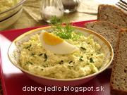 Syrovo-vajíčková nátierka - recept