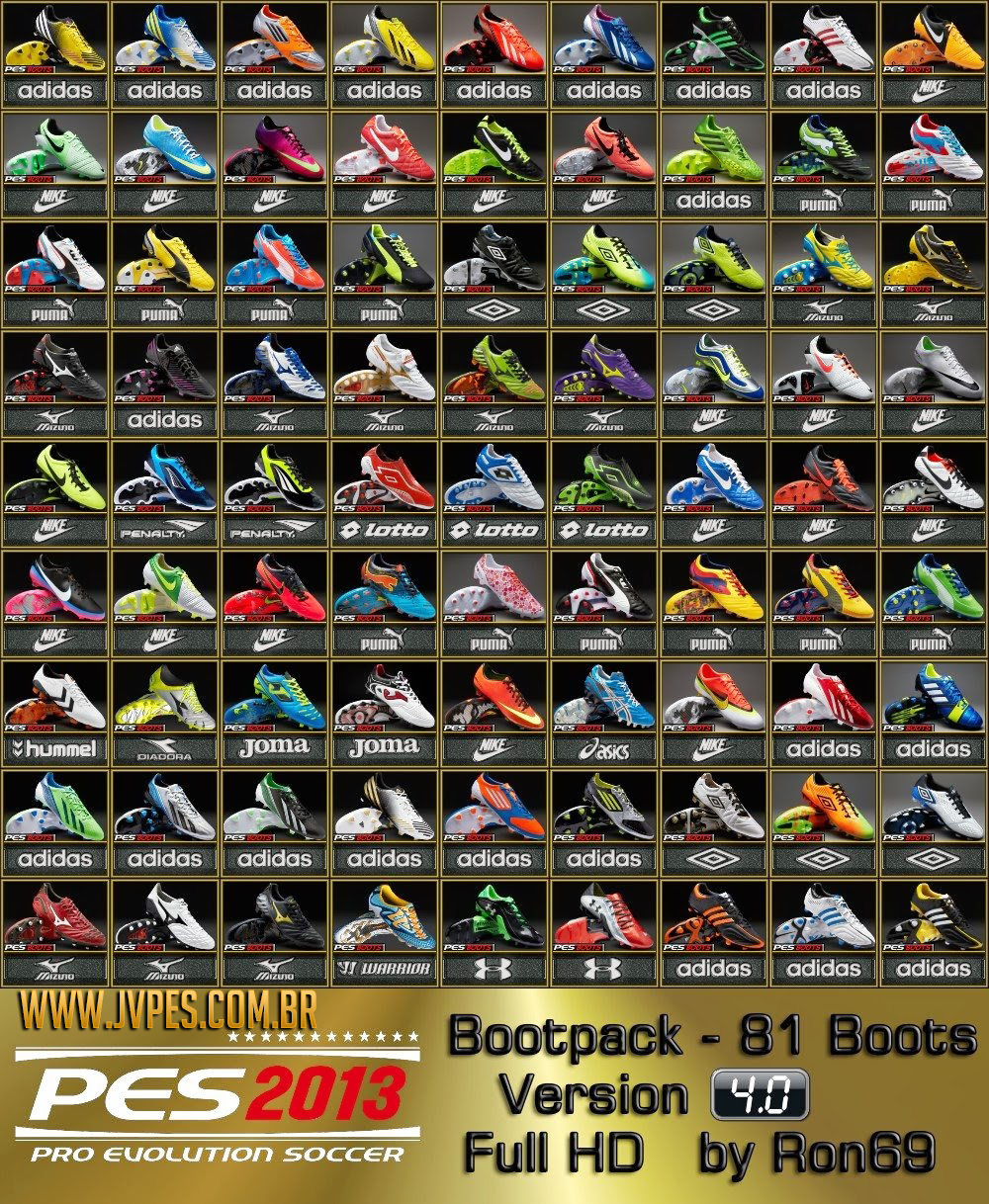 Bootpack 4.0 Full HD by RON69 para PES 2013