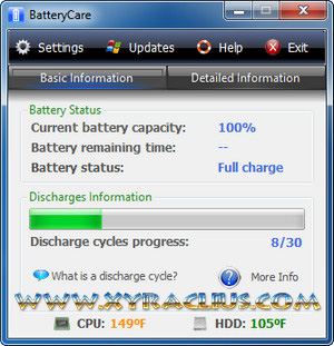 BatteryCare 0.9.13.0 Full