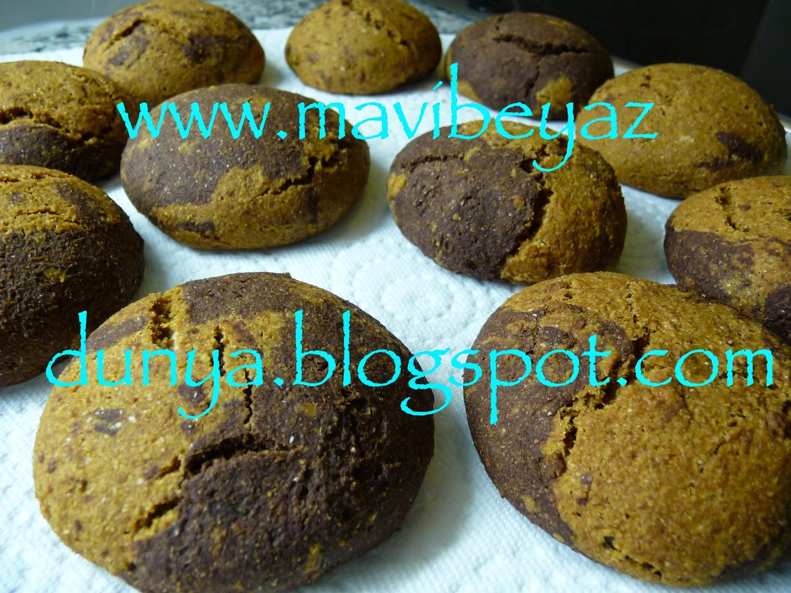 Kiraz Dünyası: Kakaolu Limonlu Kurabiye
