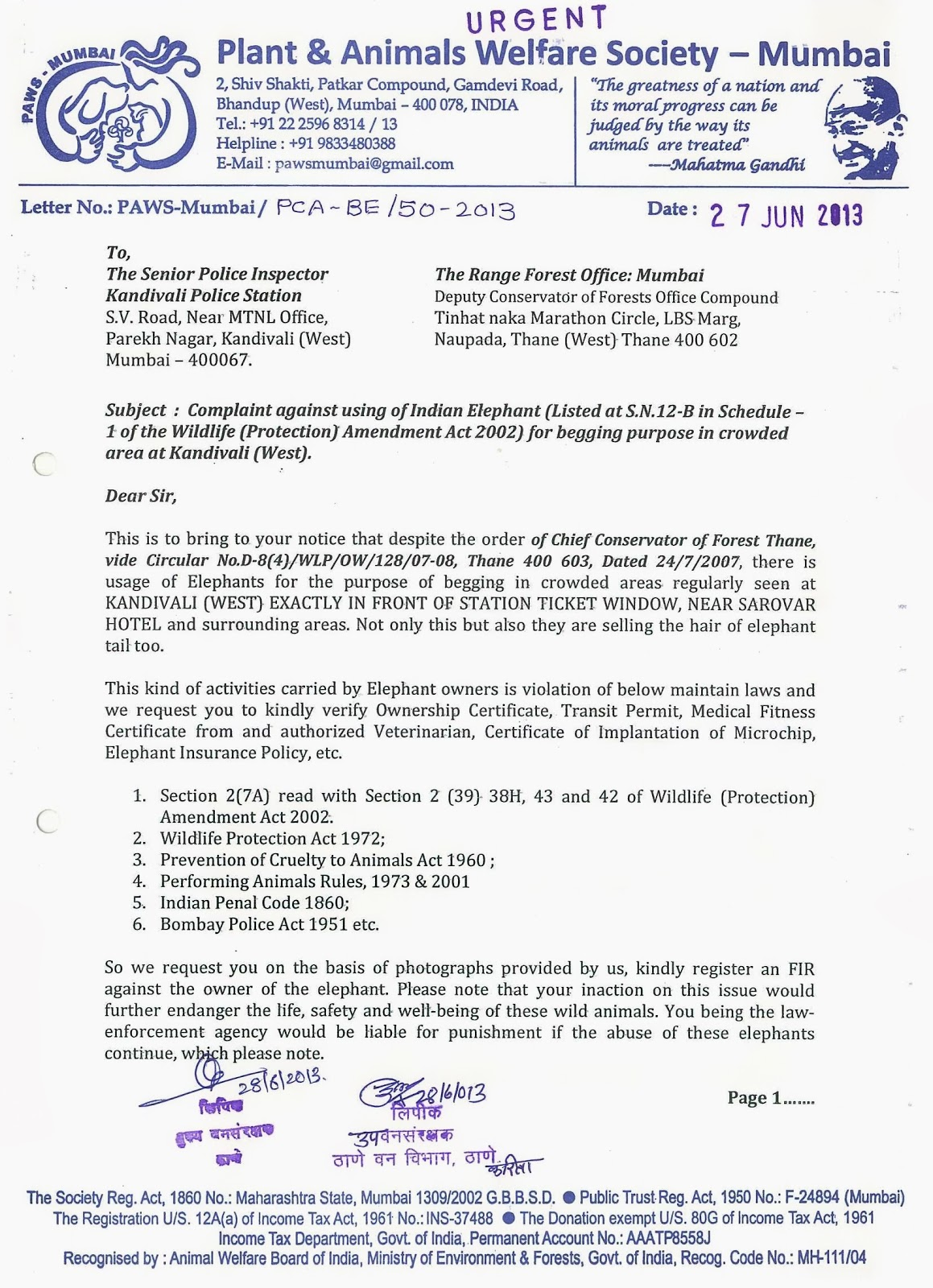 Complaint letter format to mumbai 28 images paws mumbai press complaint letter format to mumbai paws mumbai press kit update paws mumbai an animal welfare organization spiritdancerdesigns Image collections