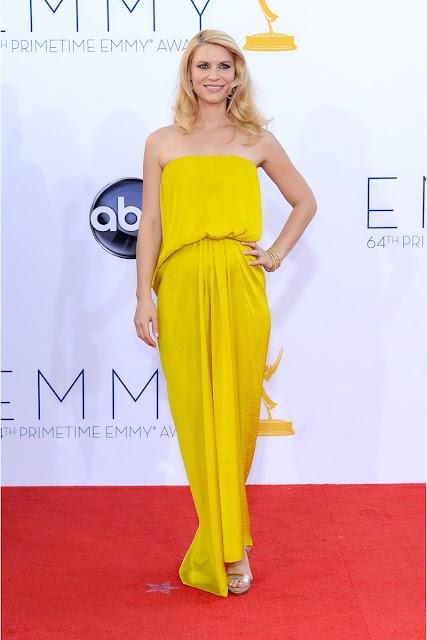 Claire Danes vestido Lanvin Emmy 2012