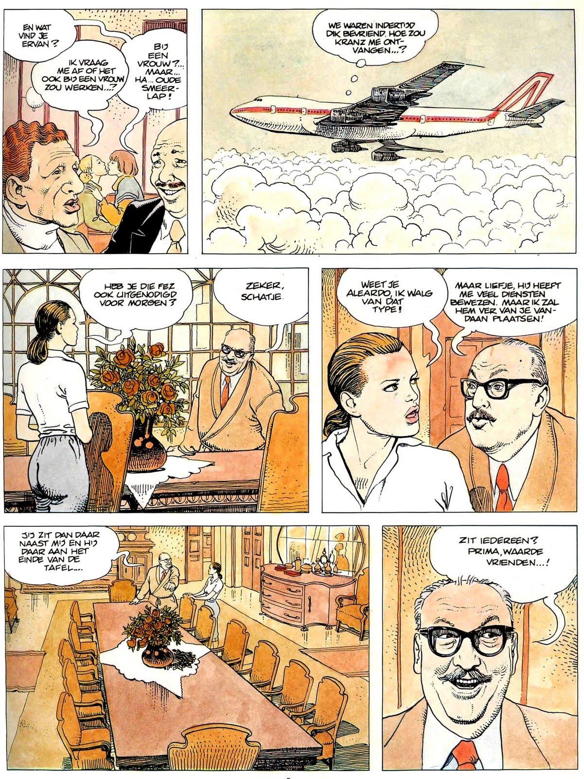 Erotisch stripverhaal van hedendaagse kunstenaar Milo Manara